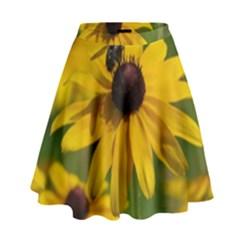 Black eyed Susan High Waist Skirt