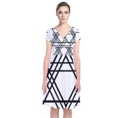 Triangles Wrap Dress
