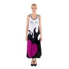 Heartflame Sleeveless Maxi Dress