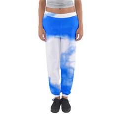 Blue Cloud Women s Jogger Sweatpants