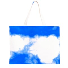 Blue Cloud Large Tote Bag