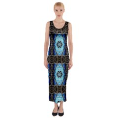 Lit0211003013  Fitted Maxi Dress