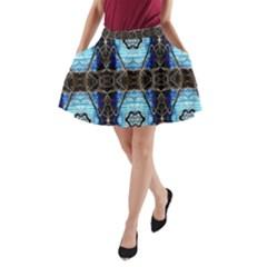 Lit0211003013  A Line Pocket Skirt