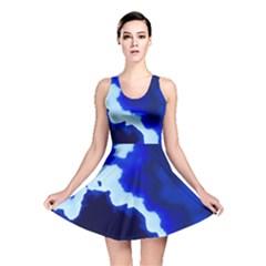 Blues Reversible Skater Dress