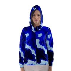 Blues Hooded Wind Breaker (Women)