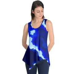 Blues Sleeveless Tunic