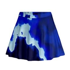 Blues Mini Flare Skirt