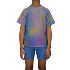 Mystic Sky Kid s Short Sleeve Swimwear
