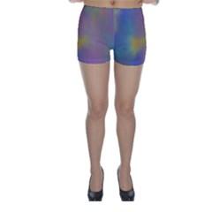 Mystic Sky Skinny Shorts