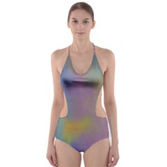 Mystic Sky Cut-Out One Piece Swimsuit