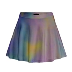 Mystic Sky Mini Flare Skirt