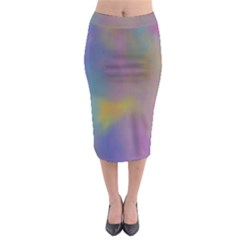 Mystic Sky Midi Pencil Skirt