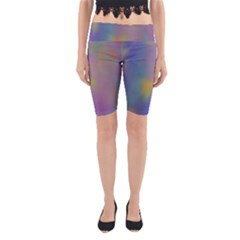 Mystic Sky Yoga Cropped Leggings