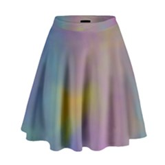 Mystic Sky High Waist Skirt