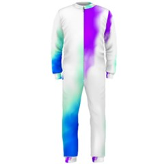 Pink White And Blue Sky OnePiece Jumpsuit (Men)
