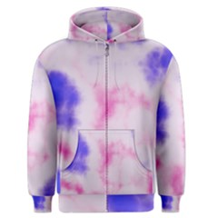 Pink N Purple Men s Zipper Hoodie