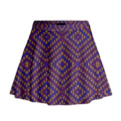 Hearts Mini Flare Skirt