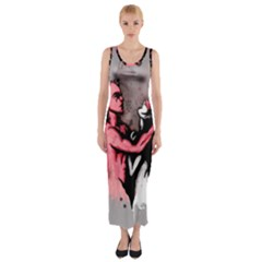 Come Play Fitted Maxi Dress