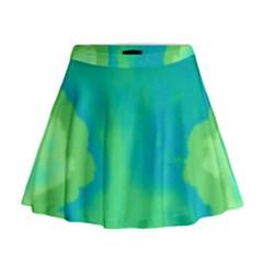 Paradise  Mini Flare Skirt