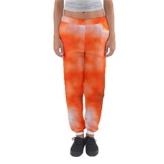 Orange Essence  Women s Jogger Sweatpants