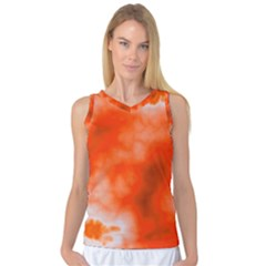 Orange Essence  Women s Basketball Tank Top