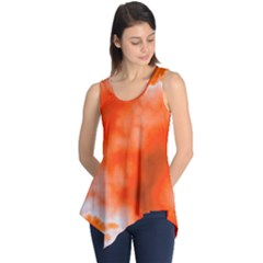 Orange Essence  Sleeveless Tunic