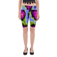 Insane Color Yoga Cropped Leggings