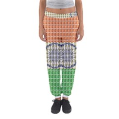 Indian Flag Women s Jogger Sweatpants