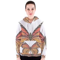 Butterfly Women s Zipper Hoodie