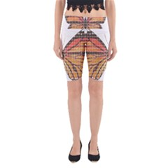 Butterfly Yoga Cropped Leggings