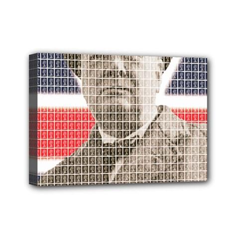 Churchill 1 Mini Canvas 7  x 5