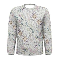 Oriental Floral Ornate Men s Long Sleeve Tee