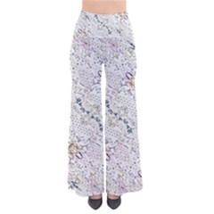 Oriental Floral Ornate Pants