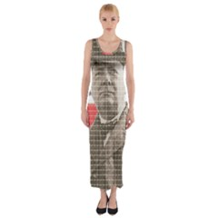 Winston Churchill Fitted Maxi Dress