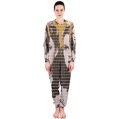 Over The Rainbow - Yellow OnePiece Jumpsuit (Ladies)