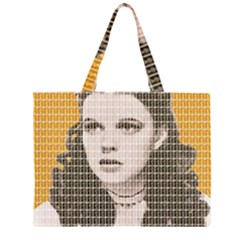 Over The Rainbow - Yellow Large Tote Bag