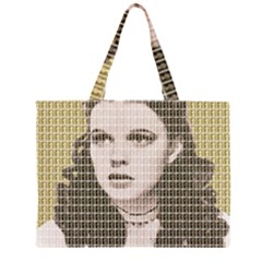 Over The Rainbow - Gold Large Tote Bag