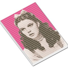 Over The Rainbow   Pink Large Memo Pads