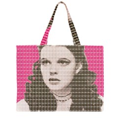 Over the Rainbow - Pink Large Tote Bag