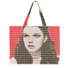 Over the Rainbow - Red Large Tote Bag