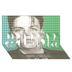 Sinatra Mug Shot #1 MOM 3D Greeting Cards (8x4)
