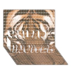 Tiger Tiger YOU ARE INVITED 3D Greeting Card (7x5)