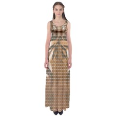 Tiger Tiger Empire Waist Maxi Dress