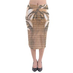 Tiger Tiger Midi Pencil Skirt