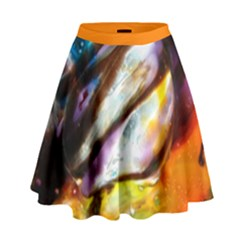 Two Thrones High Waist Skirt