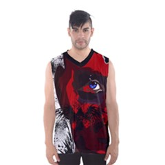 Eagle Face Men s Basketball Tank Top