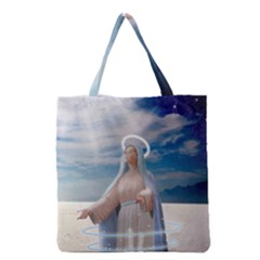 Our Mother Mary Grocery Tote Bag