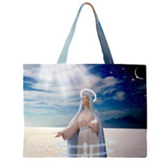 Our Mother Mary Large Tote Bag
