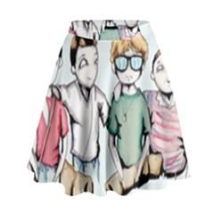 Two For Flinching High Waist Skirt