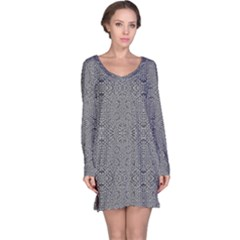 Holy Crossw Long Sleeve Nightdress